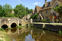 Castle Combe - River Bybrook