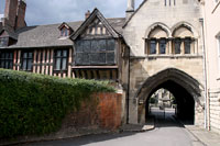 Entrance to Cathedral Square - Gloucester