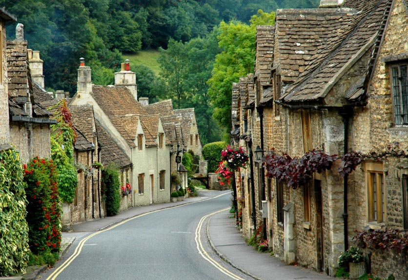 Castle Combe The Cotswolds England